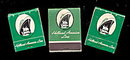 3 Vintage Holland-America Line (Cruise Ship) Matchbooks