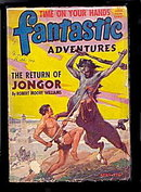 April 1944 'Fantastic Adventures' Pulp Magazine