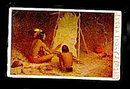 1906 'The Historian' Native Americans Painting Postcard