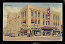 1948 Albuquerque, NM, Kimo Indian Theatre Postcard