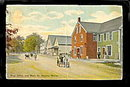Naples, ME, Post Office and Main Street, 1907 Postcard