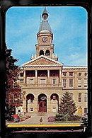 Hillsdale, MI, County Courthouse 1950s Postcard