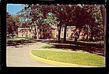 Marshall, MI, Oaklawn Hospital 1950s Postcard