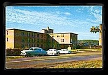 Hancock, MI Tuberculosis Sanatorium 1950s Postcard