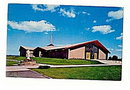 Oscoda MI, Sacred Heart Catholic Church 1950s Postcard