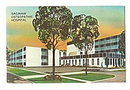Saginaw, MI, Saginaw Osteopathic Hospital 1970 Postcard