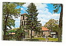 Brooklyn, MI, Church of St. Josephs 1950s Postcard