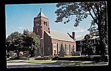 South Haven, MI, St. Basil Church 1950s Postcard