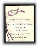 Class 1909 Cicero Township IL Commencement Invitation