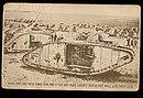 1940s Military Tanks, Huns Postcard