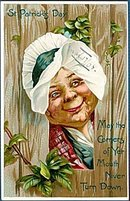 1907 Tucks Series St. Patricks Day Crone Postcard