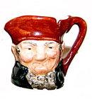 Royal Doulton Mini 'Charley' Character Toby Jug