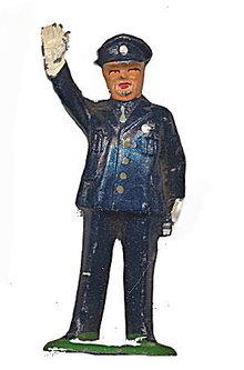Barclay B186 Policeman Dimestore Toy Lead Figure