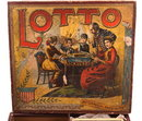 1880s McLoughlin Brothers Large LOTTO Game