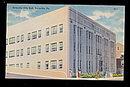 Pottsville, PA, City Hall 1930s Postcard