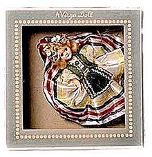 "1950s Virga ""Poland"" Hard Plastic Doll in Box"