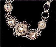Lovely Vintage Hand Worked Sterling Silver Bracelet