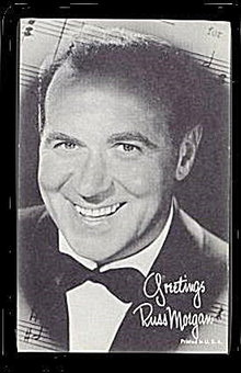 1960s Russ Morgan (Orchestra Leader) Arcade Card