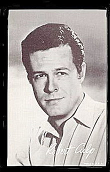 1960s Robert Culp Actor Arcade Card