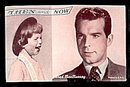 1960s Fred MacMurray 'Then and Now' Actor Arcade Card