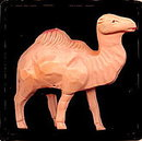 1920s Japan Celluloid Camel Animal Toy