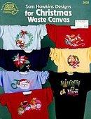 Sam Hawkins Christmas Shirts Cross Stitch Patterns Book