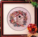 'The Birch Bark Inn' Bird House Cross Stitch Pattern