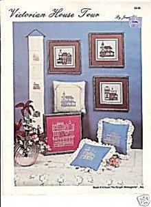 The Victorian House Tour Cross Stitch Patterns