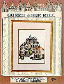 Queen Anne Hill Victorian Home- Cross Stitch Pattern