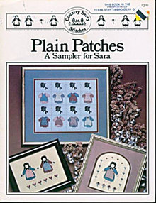 Sampler for Sara's Garden 'Plain Patches' Cross Stitch