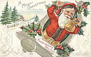 Santa Claus 'Everybody's Delight' 1910 Postcard