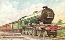 Tucks London & North Eastern (LNER) Train Postcard