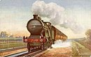 Tucks 'GNR Kings Crossing' Train 1907 Postcard