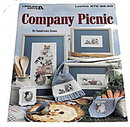1990 Company Picnic Cross Stitch Leisure Arts 975
