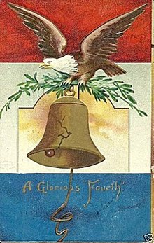 1908 'A Glorious Fourth' Ellen Clapsaddle Postcard