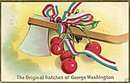 1911 'Original Hatchet of George Washington' Postcard