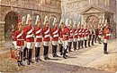 Tucks 1907 1st Life Guards Military in London Postcard