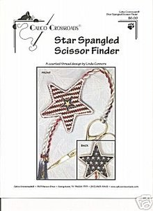 Star Spangled Scissor Finder - Calico Crossroads
