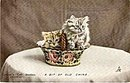 Tucks Cat Studies 'A Bit of Old China' 1906 Postcard