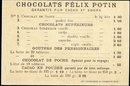 1885 Chocolat Felix Potin 'Opera Faust' Trade Card