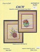 'Cacti'  Cross Stitch Pattern Booklet