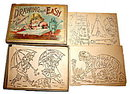 Early 1900s McLoughlin Bros Drawing Made Easy Stencils