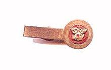 Vintage PAP Loyal Order of Moose Tie Clasp