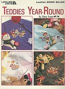 Leisure Arts Teddies Year- Round Cross Stitch Booklet