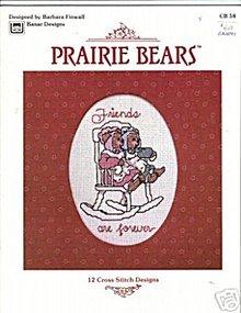 'Prairie Bears' 12 Cross Stitch Designs Booklet
