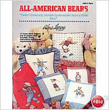 All-American (Teddy) Bears Cross Stitch Book