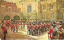 Tucks 'Changing Guard at St James' 1907 Postcard