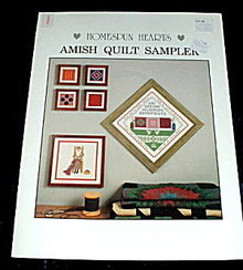 'Amish Quilt Sampler' - Cross Stitch Patterns