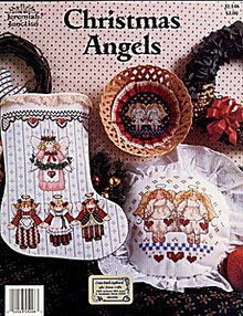 """""""Christmas Angels"""" Jeremiah Junction X-Stitch"""
