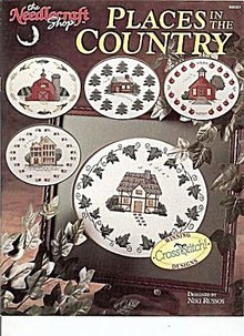 'Places in the Country' Cross Stitch Patterns